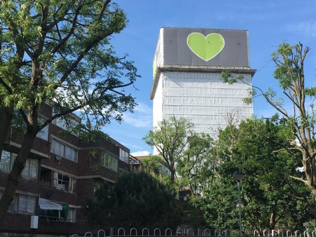 72 people lost their lives in Grenfell tower fire. Photo: Julia Gregory