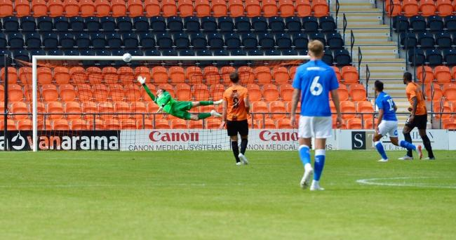 Barnet's winless run continued as they were beaten by Hartlepool United. Picture: Len Kerswill
