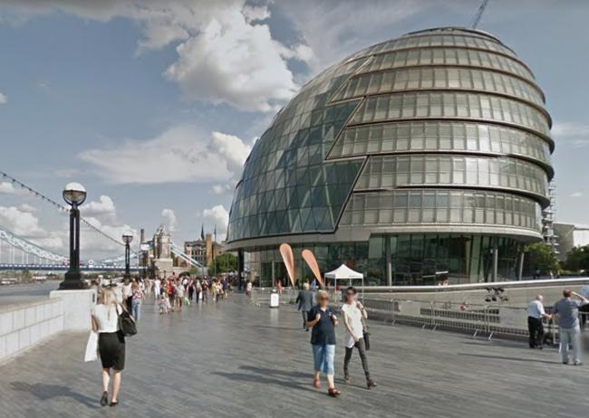 Online meetings would let Assembly members scrutinise Sadiq Khan during the outbreak (Photo: GoogleMaps).