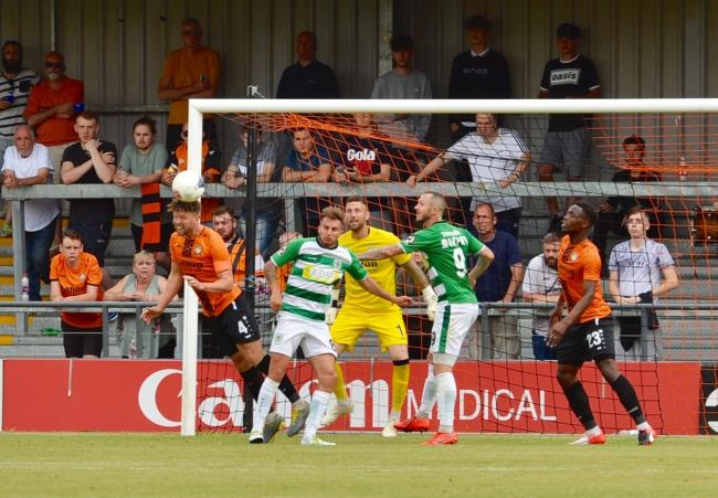 The Bees opened their season with victory over Yeovil on Saturday. Picture: Len Kerswill