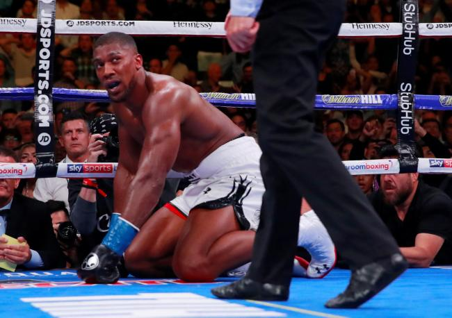 Anthony Joshua lost his world titles in June. Picture: Action Images