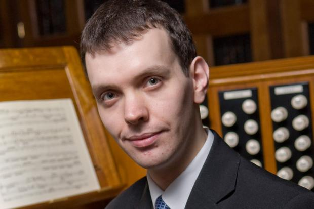 Tom Winpenny, Assistant Master of the Music at St Albans Cathedral