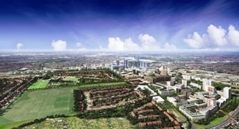 An artists impression of the Brent Cross Cricklewood plans