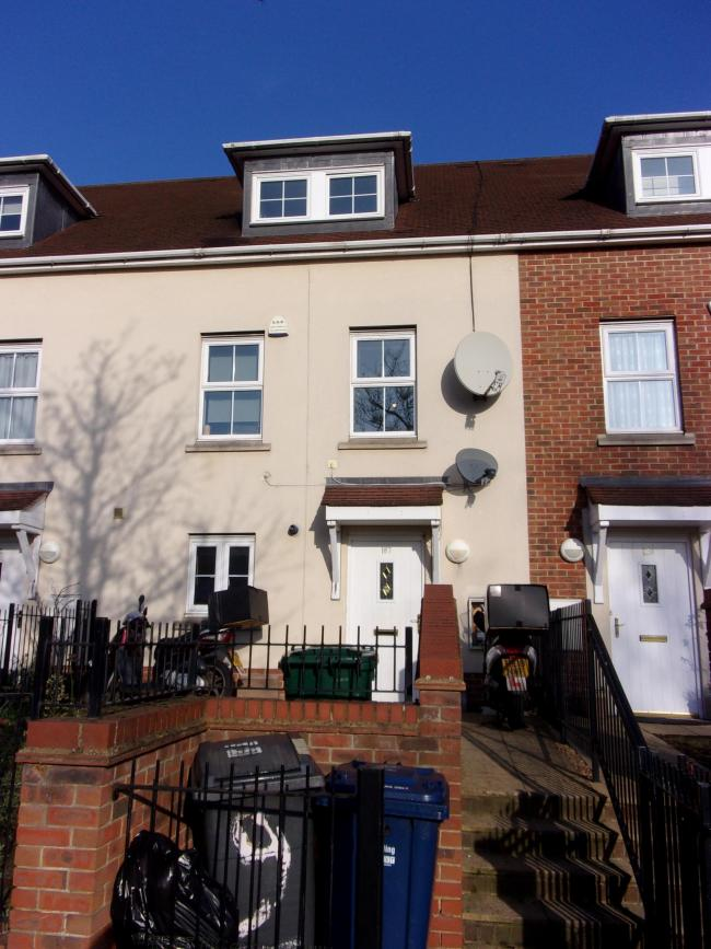 The house, in the centre, in question. Credit: Barnet Council