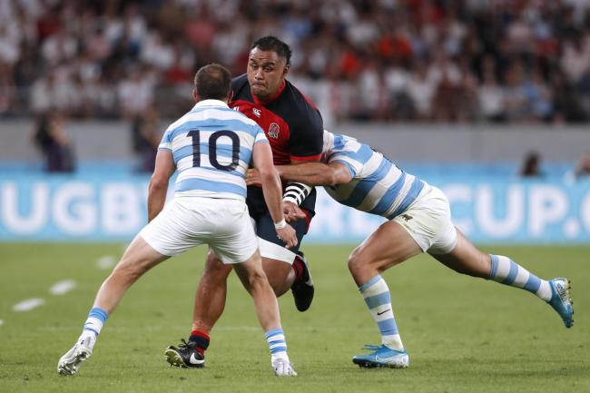 Billy Vunipola in action during the win over Argentina. Picture: Action Images