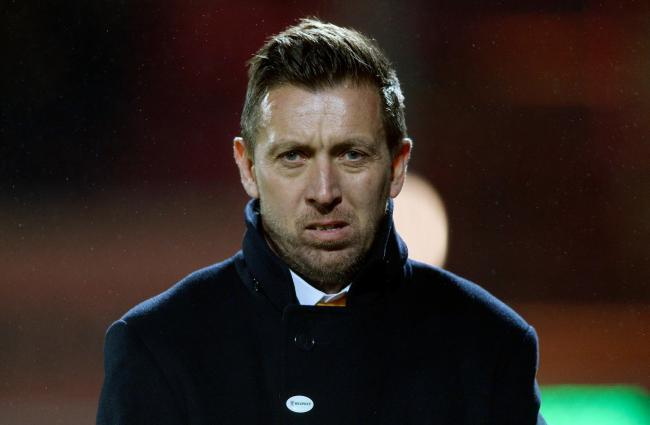 Darren Currie was unhappy with some of Barnet's decision making against Aldershot Town. Picture: Action Images