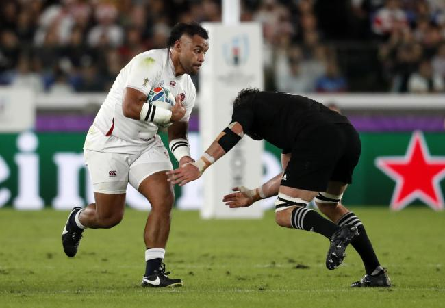 Billy Vunipola in action in the semi-final triumph over the All Blacks. Picture: Action Images