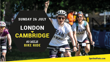 London to Cambridge bike ride