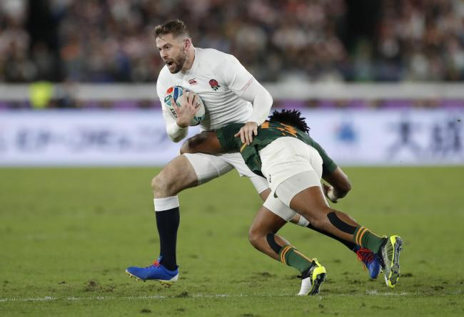 Elliot Daly in action in the World Cup final. Picture: Action Images