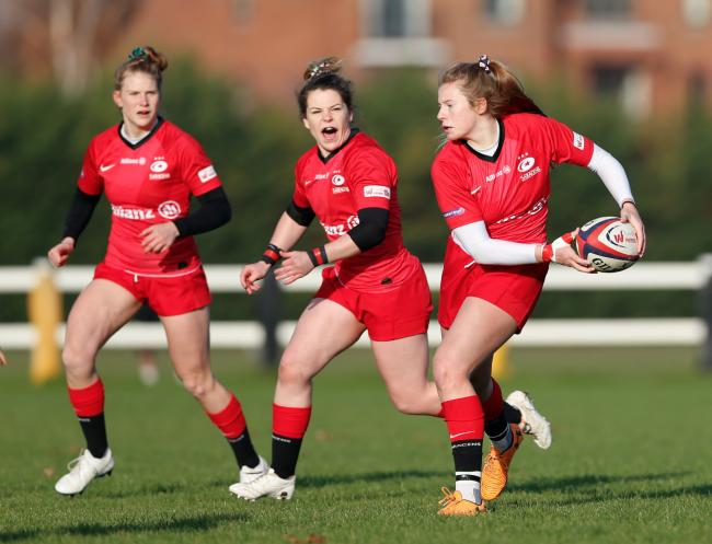 Saracens Women made a winning return against Wasps FC Ladies. Picture: Matt Impey - Wired Photos
