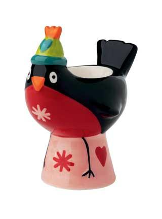 Egg cup robin from Marks and Spencer – nice stocking filler for £3.50