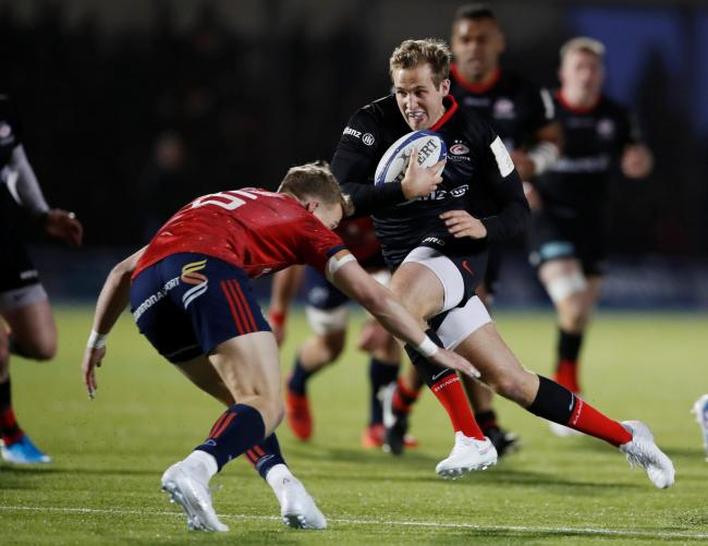 Max Malins scored twice for Saracens. Picture: Action Images