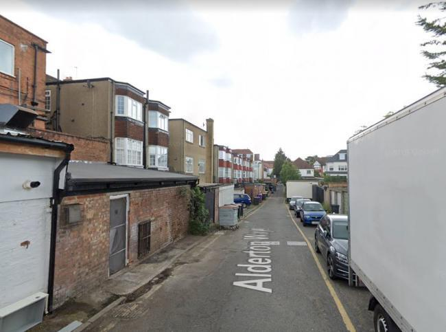 The homes would be accessed via Alderton Way (Image: Google Maps)