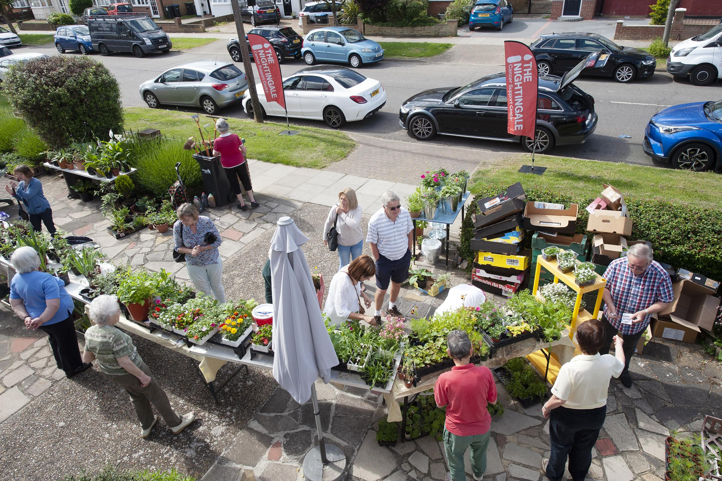The Nightingale Charity Plant Sale
