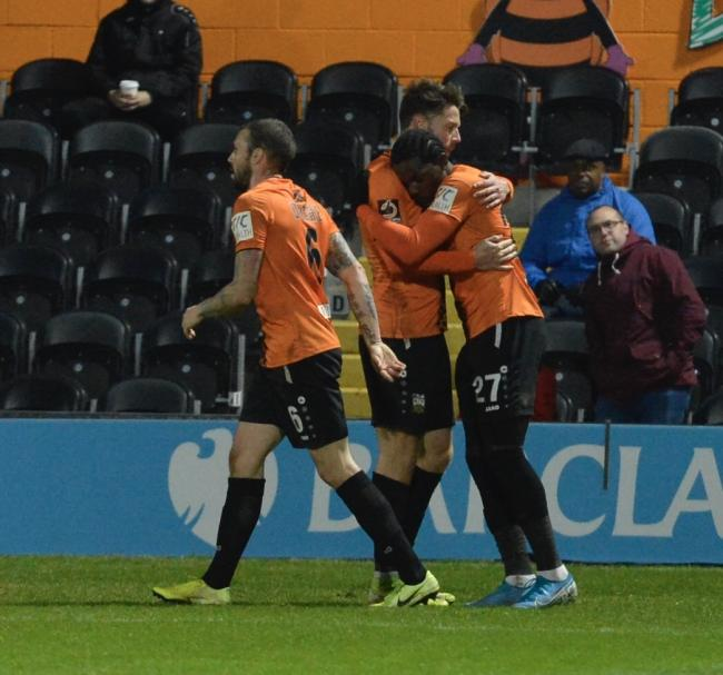 Barnet continued their excellent forn with a win over Hartlepool United. Picture: Len Kerswill