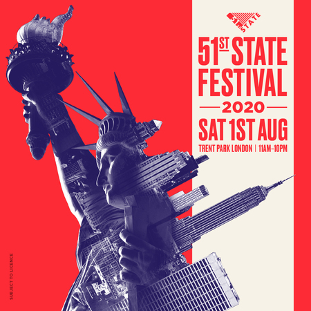 51st State Festival in London August 2020