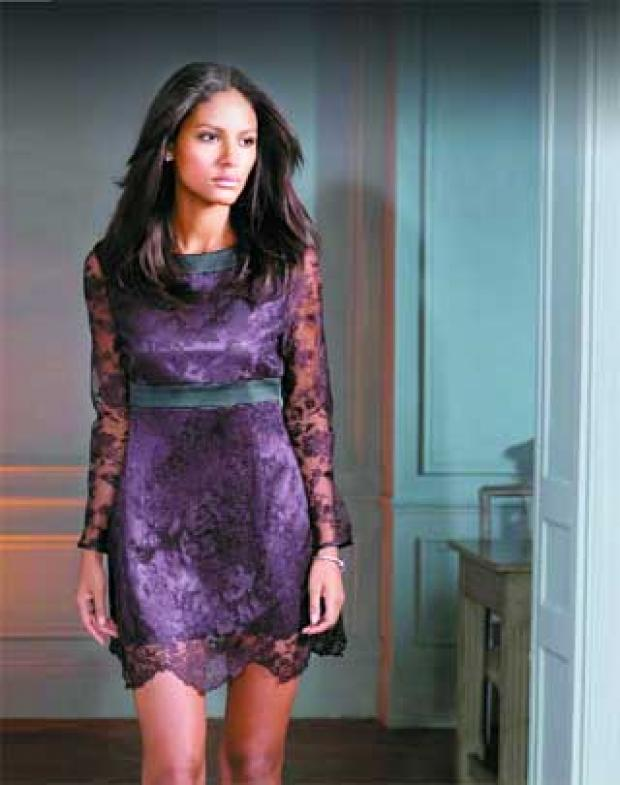 Times Series: Looking lacy with a delicate dress
