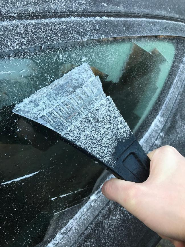 Forget the scraper – these are the best ways to de-ice your car