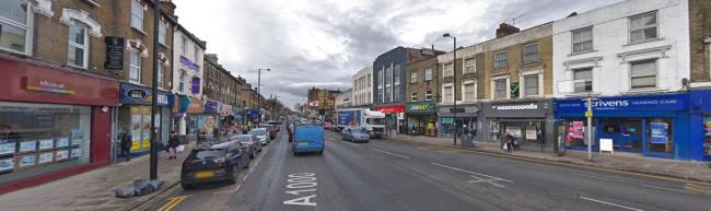 A man died after falling from a building on High Road, North Finchley (Photo: Street View)