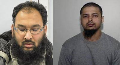 Mohammed Abdul Ahad and Muhammad Abdur Raheem Kamali are jailed (Photo: Met Police)