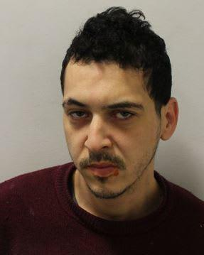 Hasani Chakron fled from North Middlesex Hospital (photo met police)