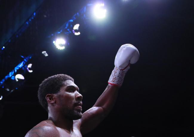 Anthony Joshua has thanked those leading the fight against coronavirus. Picture: Action Images