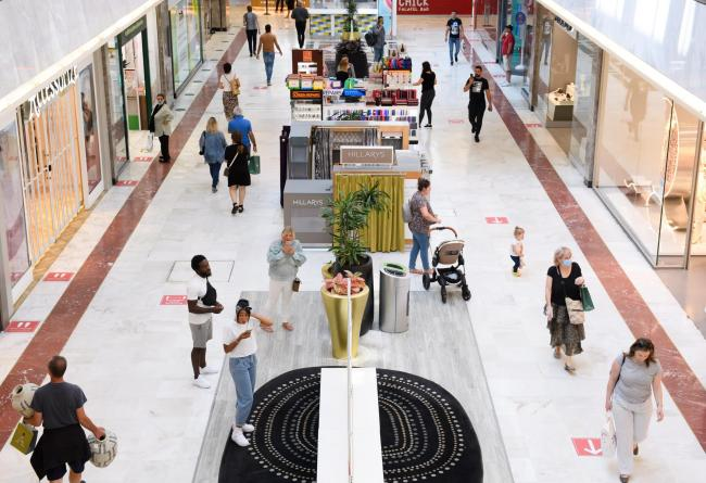 Brent Cross has reopened today Photo: Jonathan Hordle