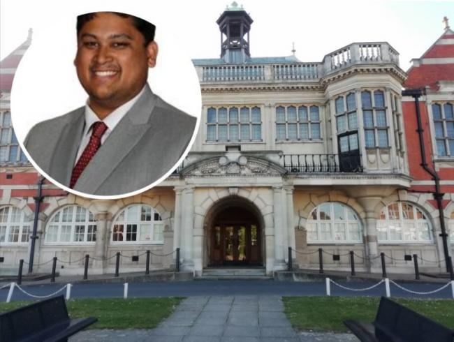 Cllr Arjun Mitta called on the council to tackle racial inequality