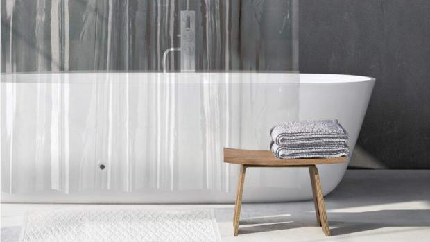 Times Series: A clean shower liner will make your bathroom much more welcoming. Credit: Amazon