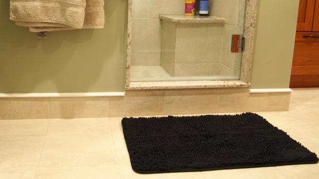 Times Series: A stylish bath mat can brighten up your space. Credit: Reviewed / Kori Perten
