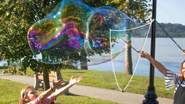 Times Series: What's not to love about bubbles? Credit: Etsy / BubblePalooza