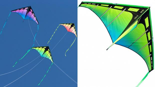 Times Series: Have a high-flying adventure with this colourful kite. Credit: Prism