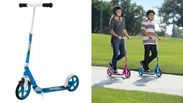 Times Series: Get scootin' around your neighbourhood with this deluxe Razor. Credit: Razor