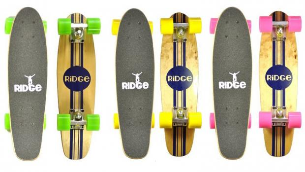 Times Series: Whether you're learning to skate for the first time or returning to the habit, this board is a great way to do it. Credit: Ridge Skateboards / Amazon