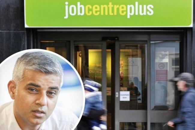 Sadiq Khan fears cutting back furlough could lead to unemployment.