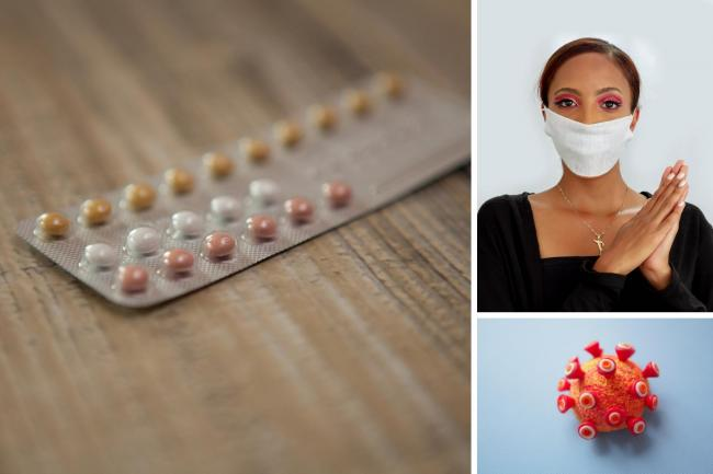 Dr Spratt, of Maine Medical Center in Portland, USA, has warned women may have to come off the pill during the coronavirus pandemic. Photos: Canva/Pixabay