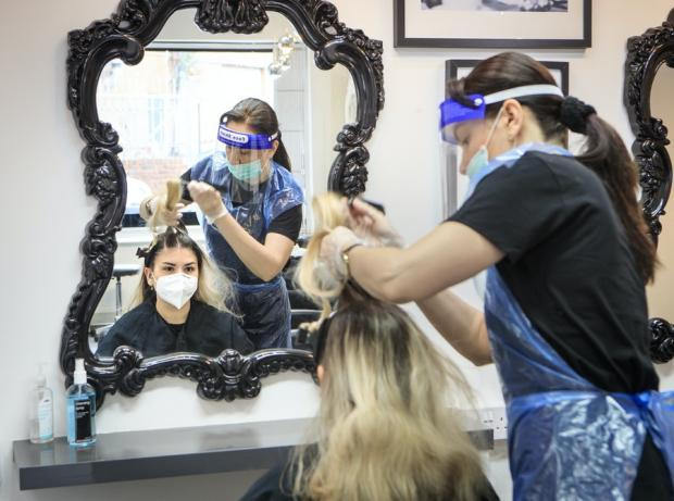 Hairdressers in England 'could stay shut until April'