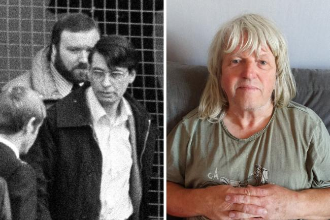 Nick Barrit (right) describes his encounter with serial killer Dennis Nilsen (left). Photos: PA, SWNS