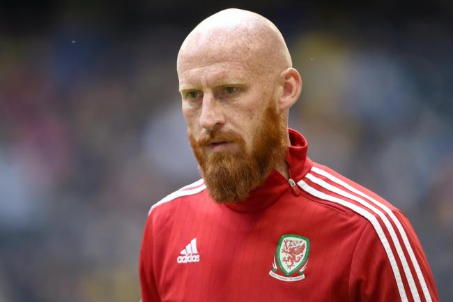 James Collins played 51 times for Wales