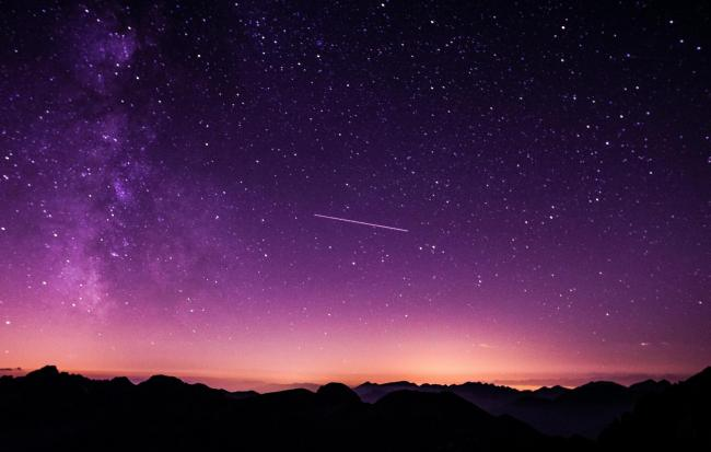 The Orionid Meteor Shower is due to peak this weak. Photo: Unsplash