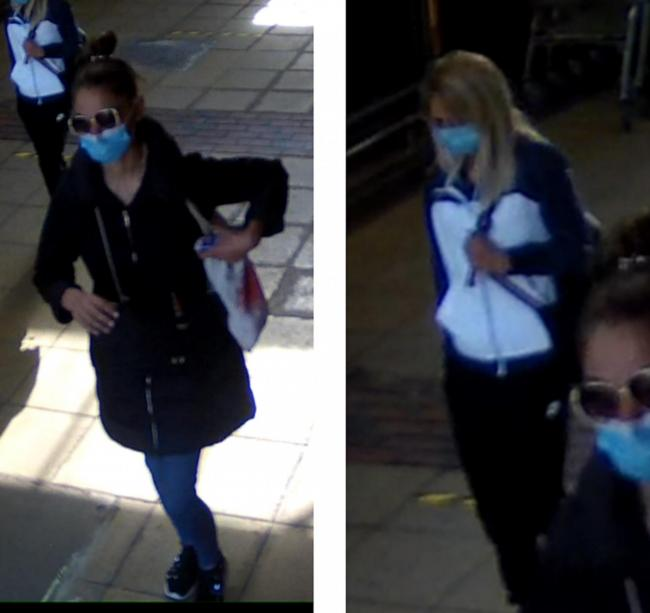 Police believe these women can help with their enquiries. Credit: Herts Police