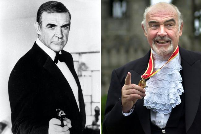 To millions of fans, Sir Sean Connery is the definitive James Bond. Photos: PA, David Cheskin