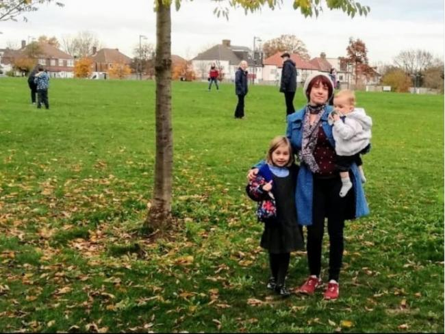 Jennie Arthur regularly uses the green space with her children