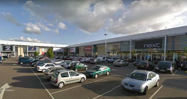 Brent Cross South retail park will be bought by the council (Image: Google Maps)