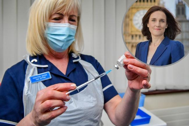 Chipping Barnet MP Theresa Villiers has called for Covid vaccinations in care homes to be stepped up. Credit: PA