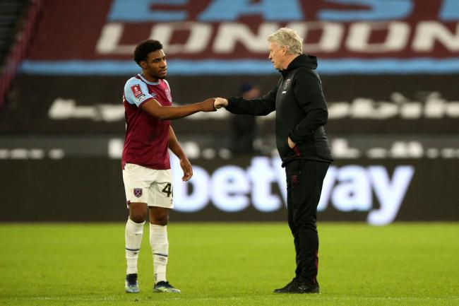 Oladapo Afolayan scored in West Ham's 4-0 win over Doncaster