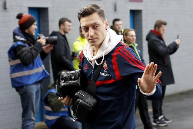Mesut Ozil said goodbye to Arsenal's fans