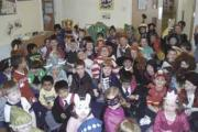 The children dressed up as their favourite characters