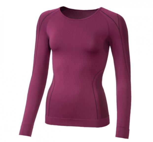 Times Series: Crivit Ladies' Seamless Thermal Long- Sleeve Vest. (Lidl)