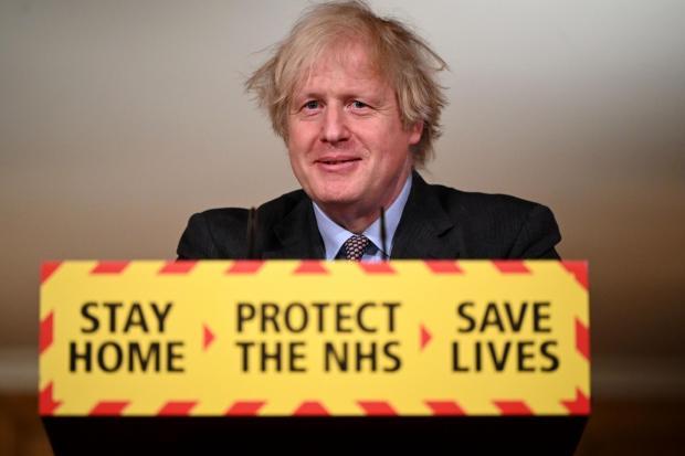 Times Series: Boris Johnson (photo PA)
